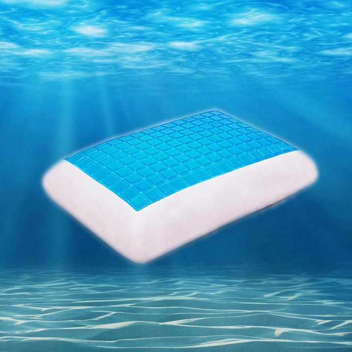 New Design Gel Memory Foam Pillow Cooling Sleeping Pillow
