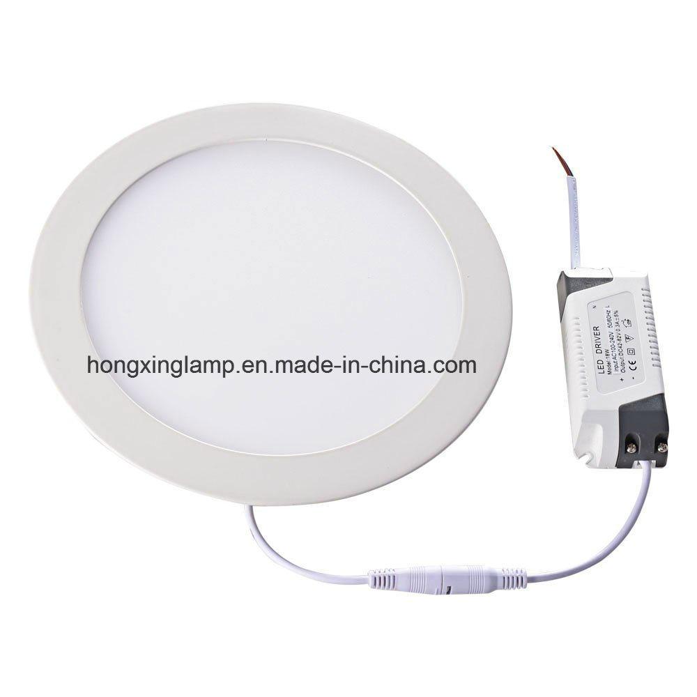 Slim LED Panel 7W 12W 18W Round Panel Light