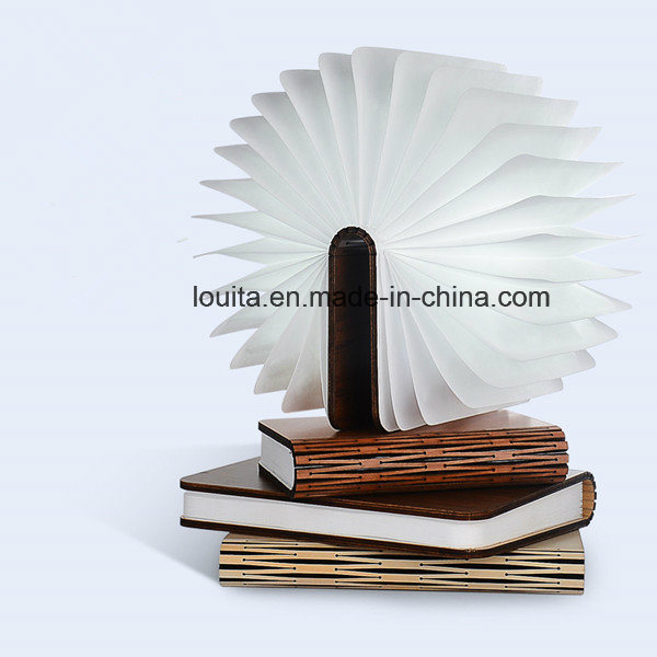 Foldable LED Book Lamp for Christmas Decoration