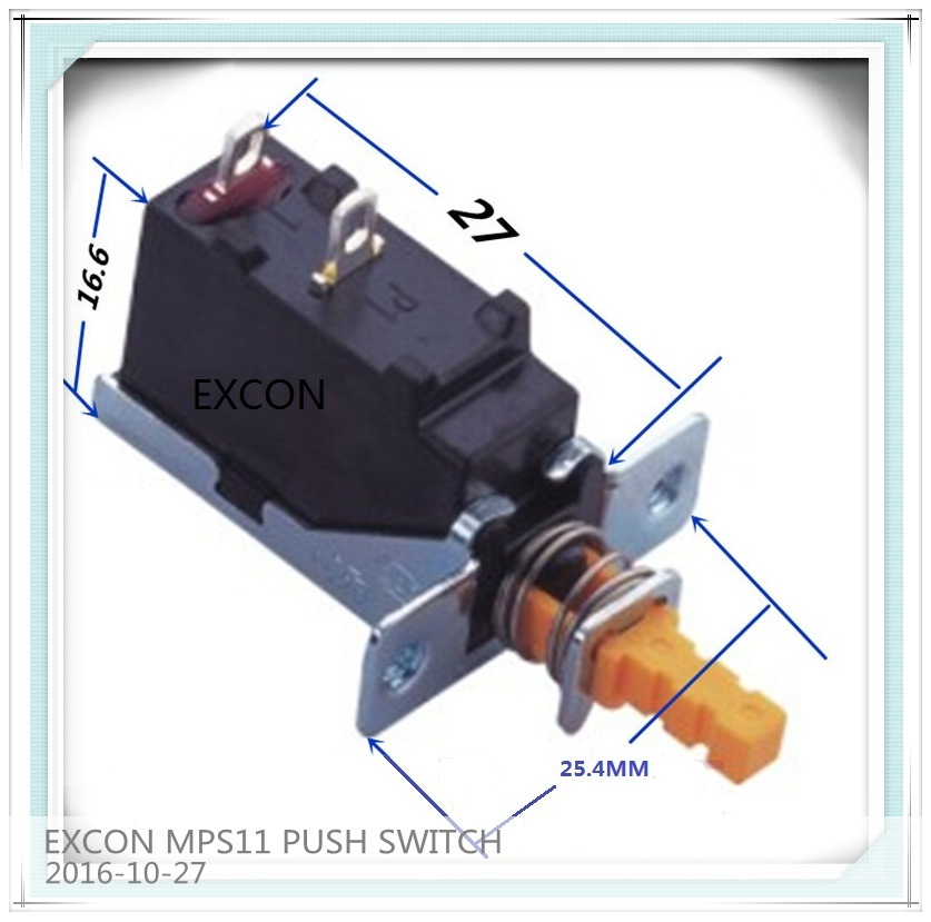 UL Mps11 Push Switch for Heater