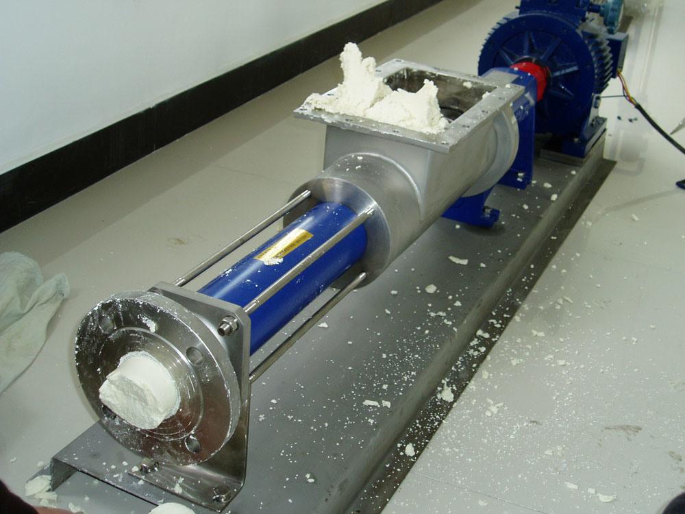 Food Grade Sanitary Single Screw Pump