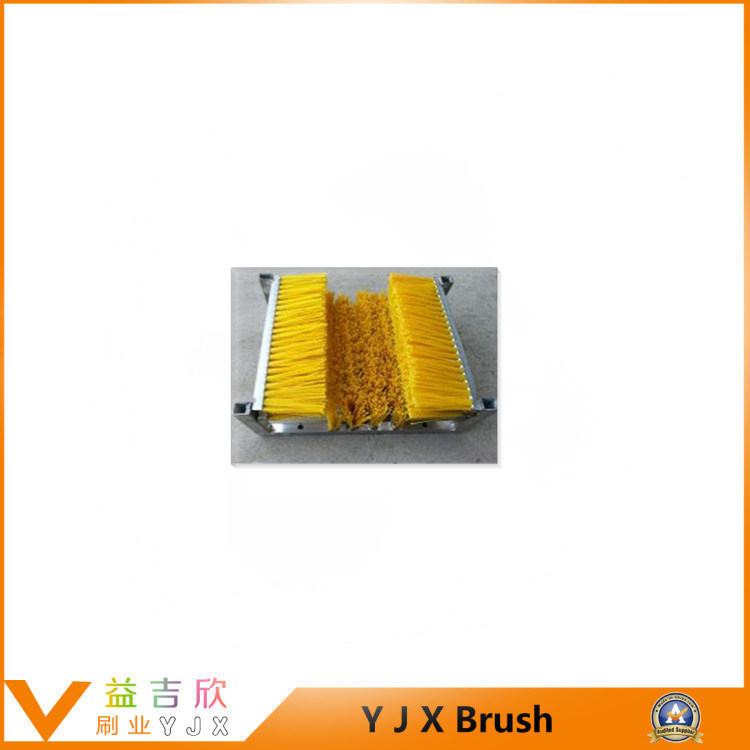 Good Wear Resistance and High Elasticity Wire and Nylon Silk Mixed with Brick Machine Brush