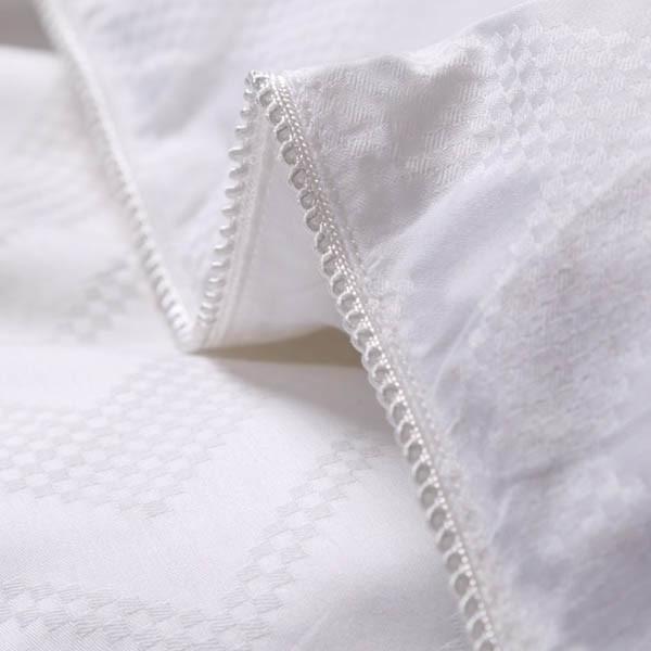 Jacquard Cotton 300tc Cover Infill Mulberry Silk Duvet Hotel