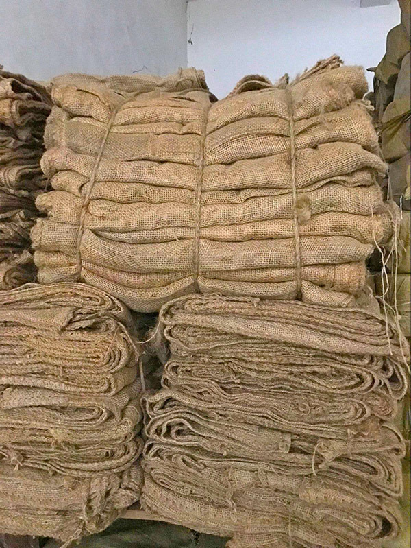 Eco Friendly Jute Burlap Rice Bag for Packing 100kg