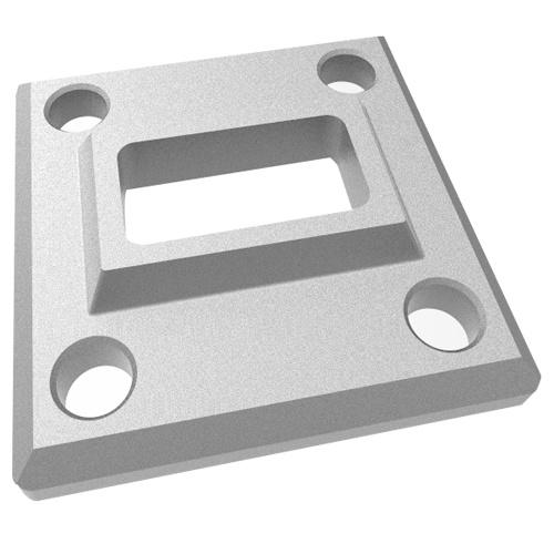 Stainless Steel Rectangular Handrail