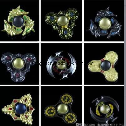 Metal Alloy Rolling Bearing Finger Gyro Fidget Hand Toys Spinner