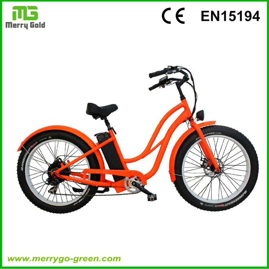 "Popular 26"" 48V 500W Lithium Battery City Electric Bike Bicycle"