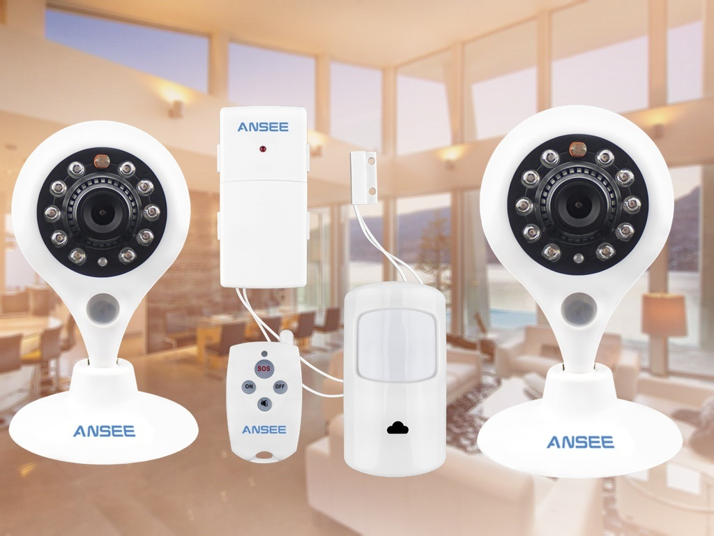 Smart Home Security Kit C2 for Home Alarm System