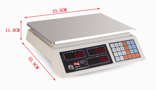 Platform Scale Electronic Price Scale (HY-918)