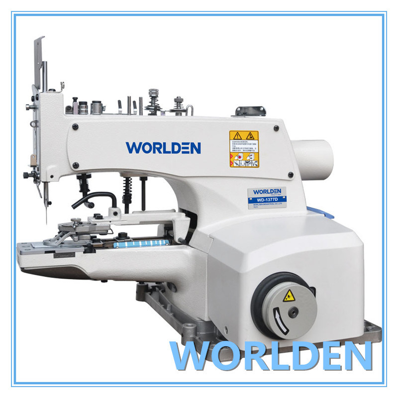 Wd-1377 High Speed Button Attaching Industrial Sewing Machine