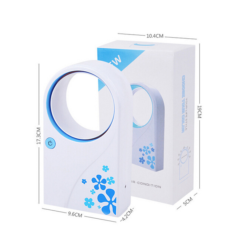 High Quality Mini USB Bladeless Fan / No Leaf Air-Condition Fan