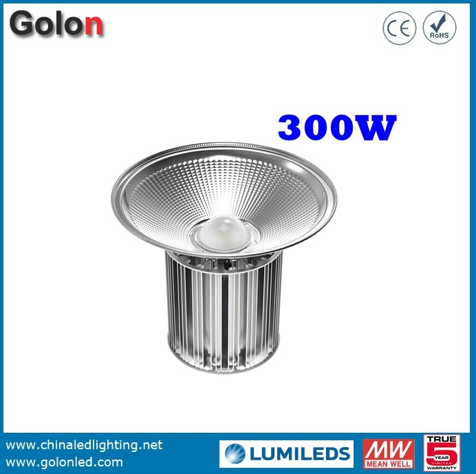 110lm/W 60W 80W 100W 120W 150W 200W 250W 300W LED High Bay Light Fittings