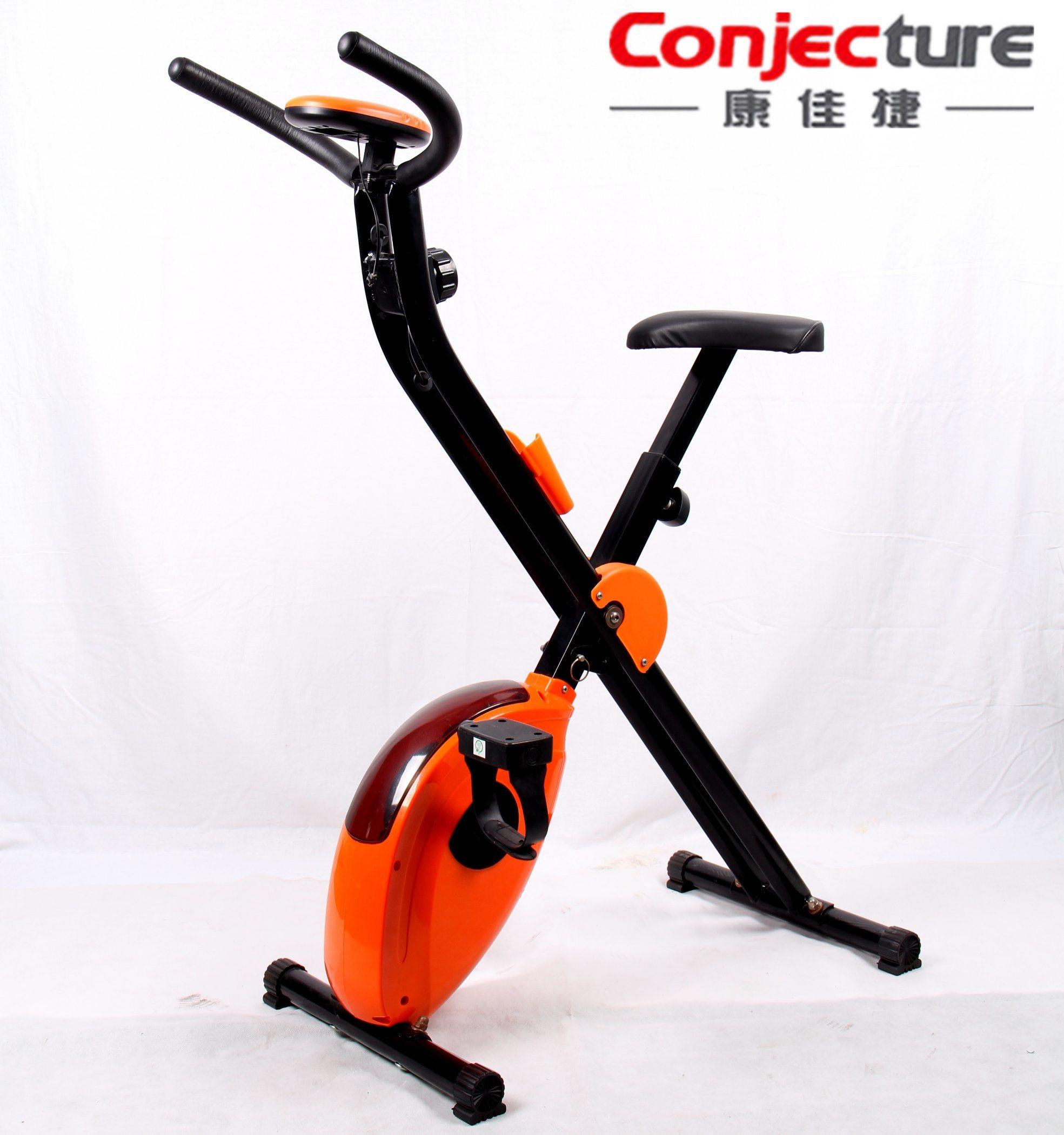 Home Fitness Equipment, Foldable Magnetic Exercise Bike X Bike