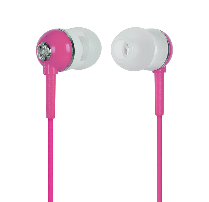 Rose Red Headphones for iPod