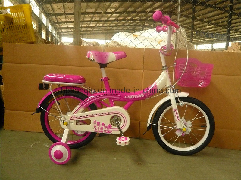 """16"""" New Cheap Four Wheels Bicycle for Children"""