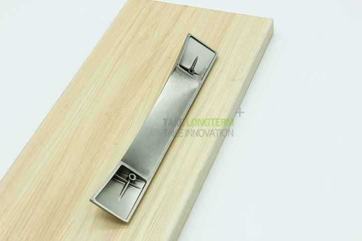 Brush Satin Nickel Zinc Alloy Cabinet Handle Drawer Pull