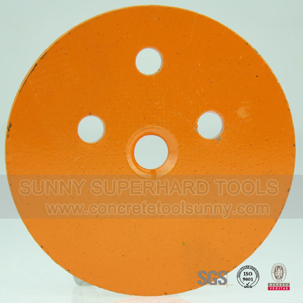 "4"" Diamond Concrete Floor Grinding Plate"