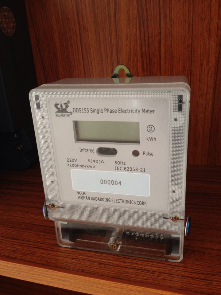 Anti-Tamper Single Phase Energy Kwh Meter