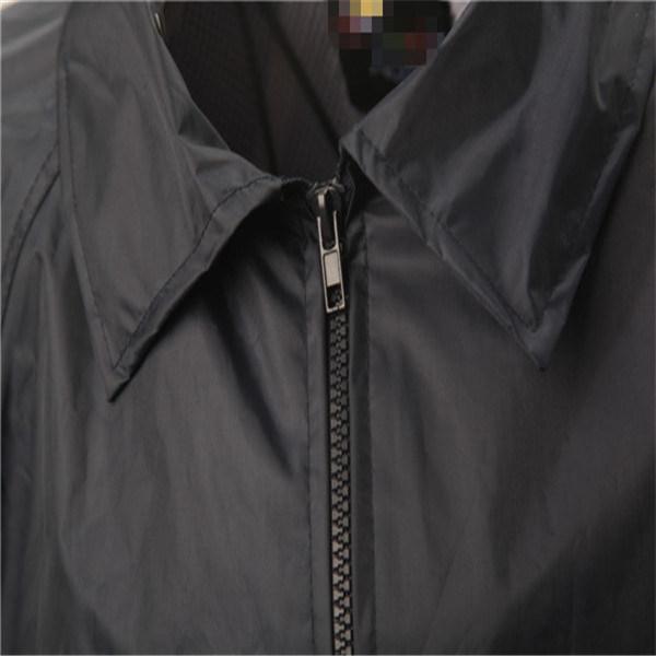 Durable Coating Raincoat with Hood