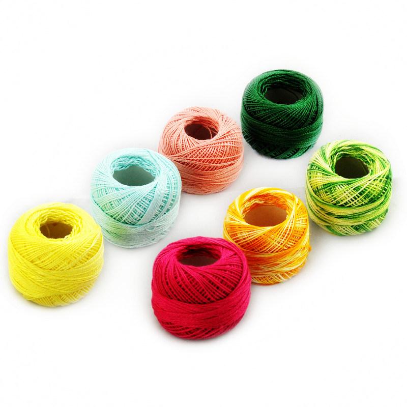 9s/2 Pearl 100% Cotton Thread