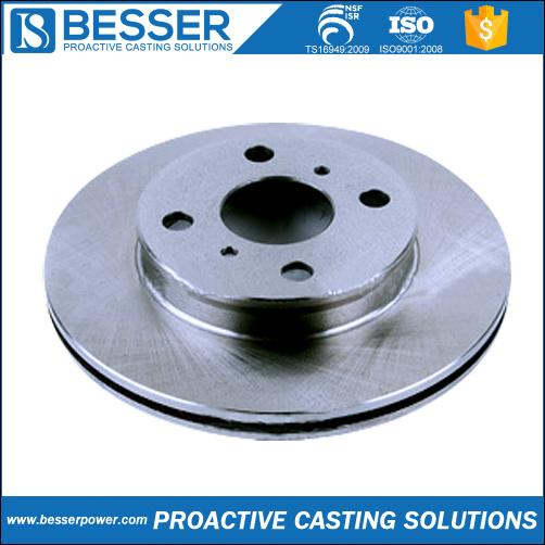 Ts16949 Precision Casting Brake Disc Pad Investment Casting Manufacture OEM Car/Automotive/Auto Brake Disc Rotor