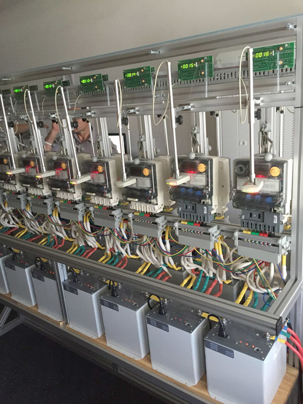 Energy Meter Test Bench Double Side Type with Ict