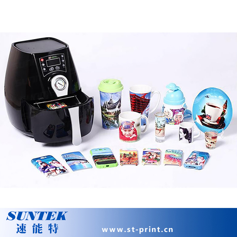 Mini 3D Sublimation Machine Use Printer Transfer Phone Case