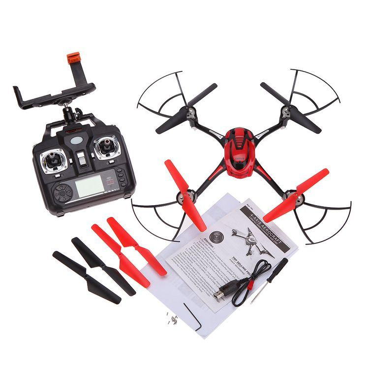 1498802c-WiFi Real Time Transmission Quadcopter Hexacopter 6 Axis Gyro 4CH RC Dron Remote Control Helicopter with 0.4MP Camera