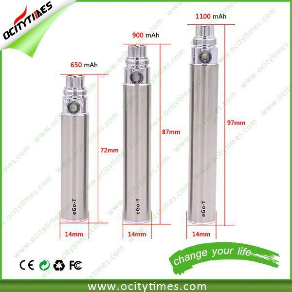 Best Selling 650mAh/ 900mAh/ 1100mAh EGO Battery