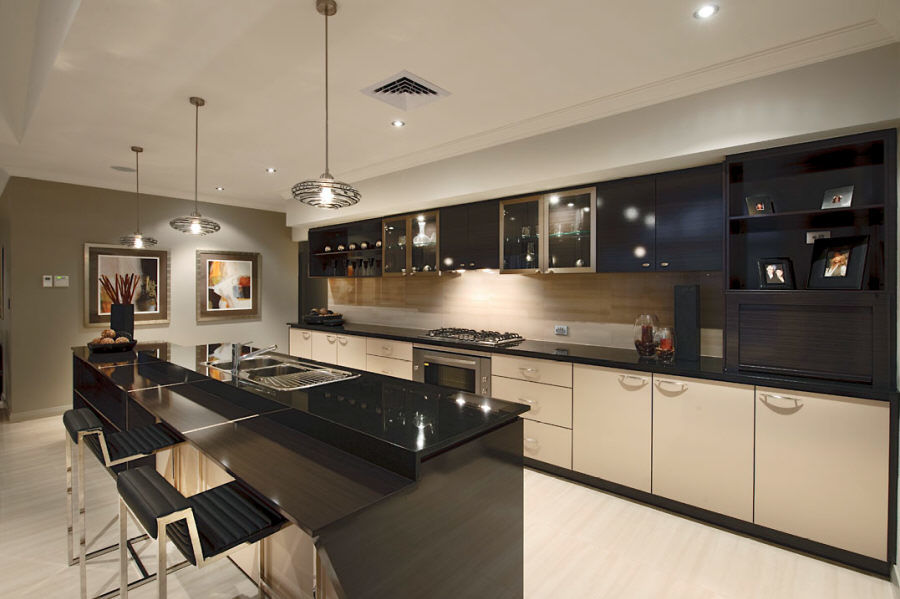 Absolute Black Granite Vanity Top and Kitchen Countertop