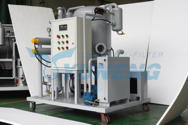 Turbine Oil Recycling Machine Turbine Oil Recycling Plant