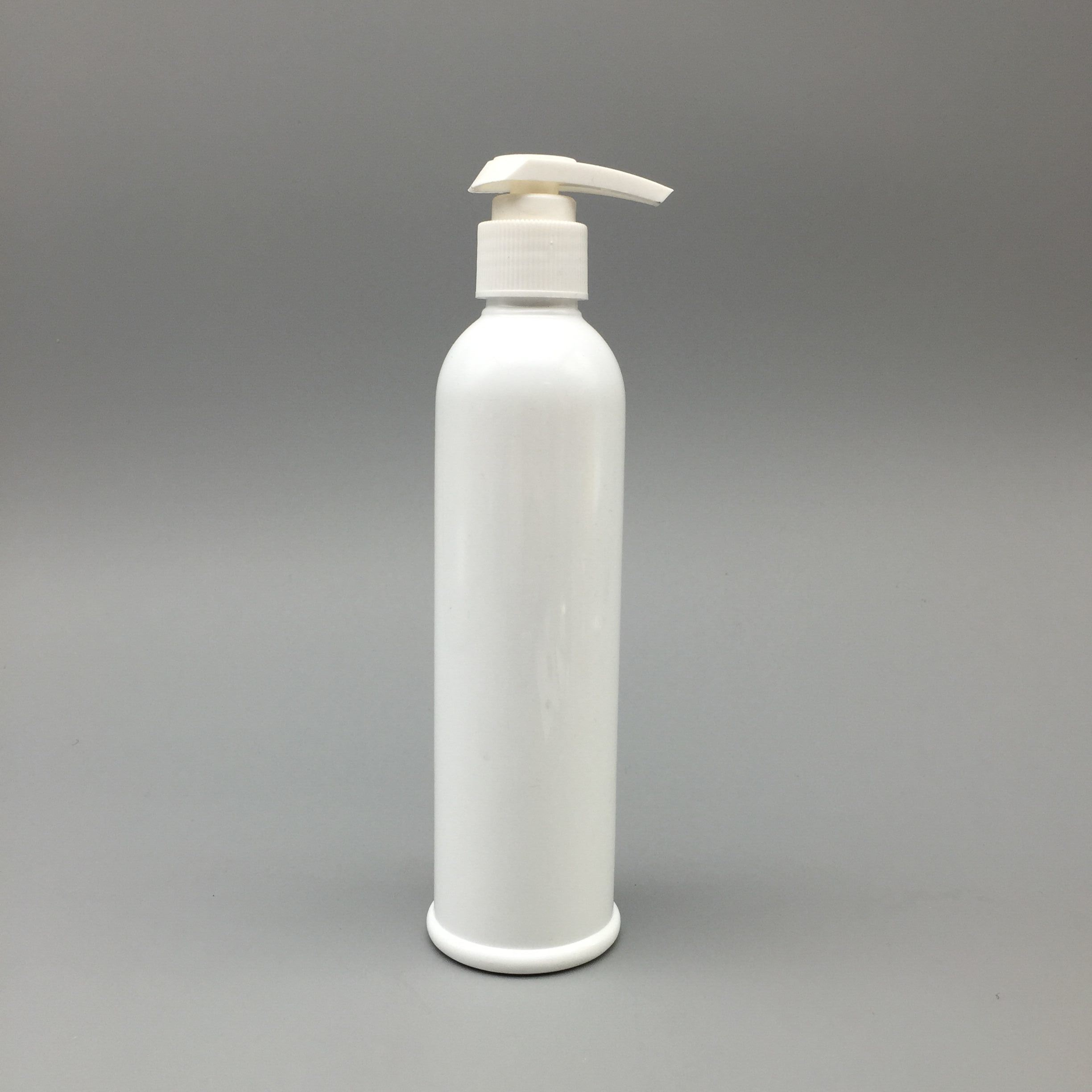 250ml White Pet Bottle with Plastic Pump