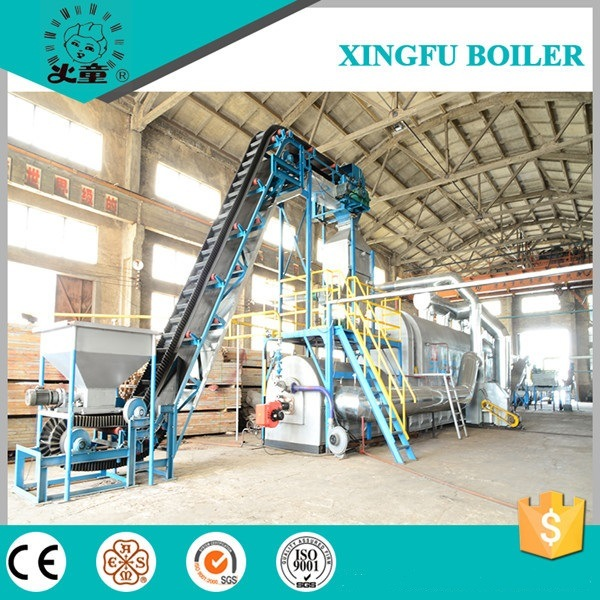 Fully Continuous Used Tyre, Rubber, Plastic Pyrolysis Equipment