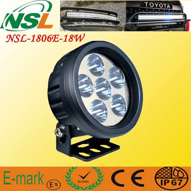 Top Selling! ! 18W LED Work Light, 12V 24V LED Work Light, CE, RoHS LED Work Light off Road Driving Light