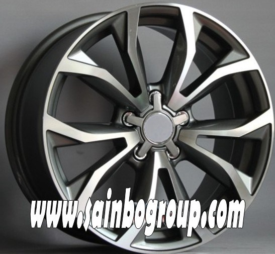 F1038 Hot Sale Vacuum Chrome Replica Alloy Wheels
