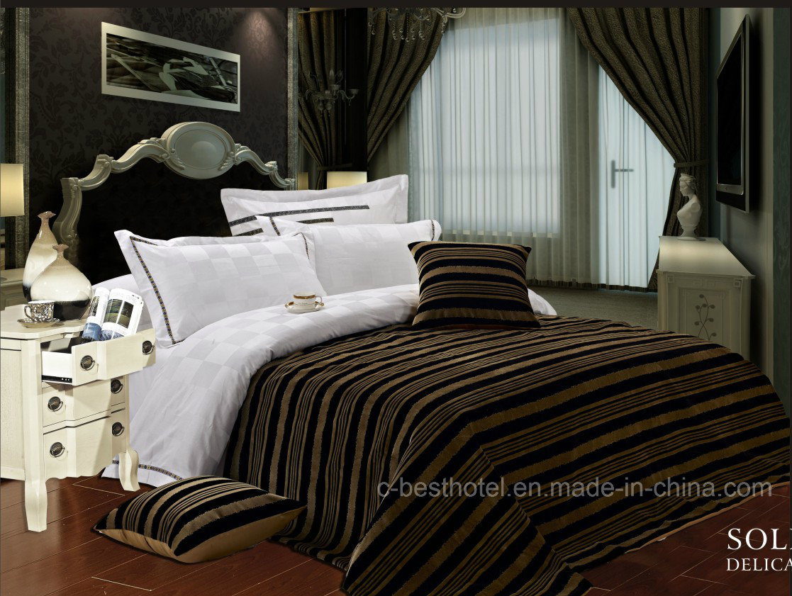 100% Cotton Jacquard Hotel Bedding Sets
