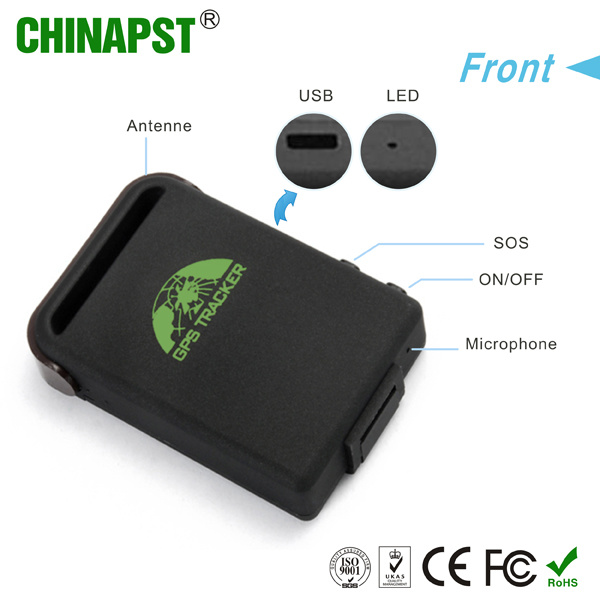 Smallest Real Time Personal & Vehicle GPS Tracker (PST-PT102B)