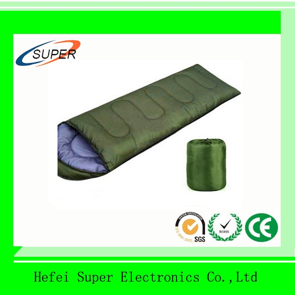 Warm Sleeping Bags in Camping Tent