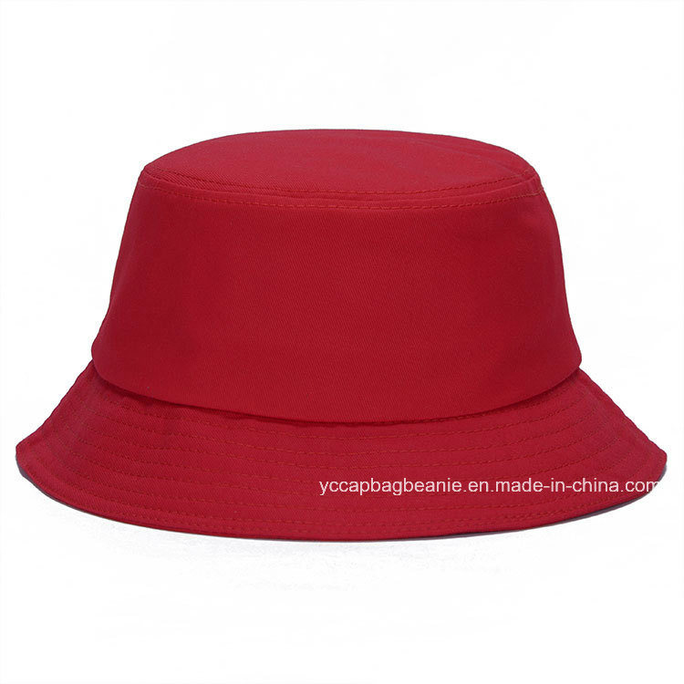 Fashion Summer Outdoor Canvas Traveling Fisherman Bucket Hat