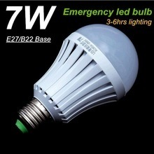 Portable Emergency LED Bulb, 7W LED Emergency Light