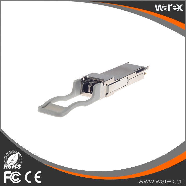 Cisco QSFP-40G-SR-BD Compatible 40GBASE-SR Bi-Directional Hot Pluggable Duplex LC Connector, 850nm/900nm, MMF Transceiver