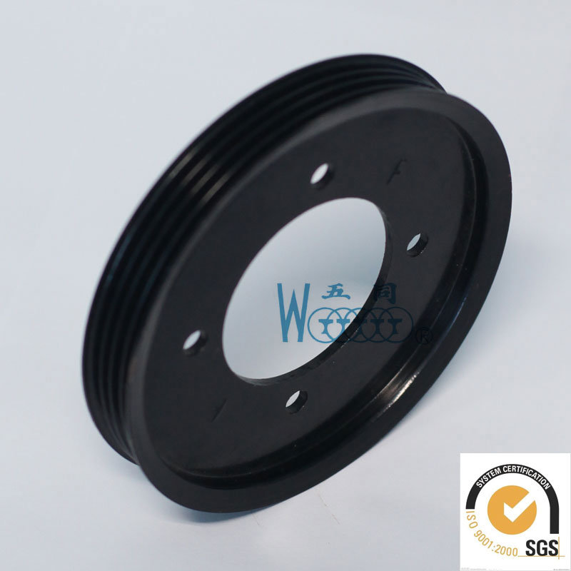 Aluminum High Quality Ribbed Pulley