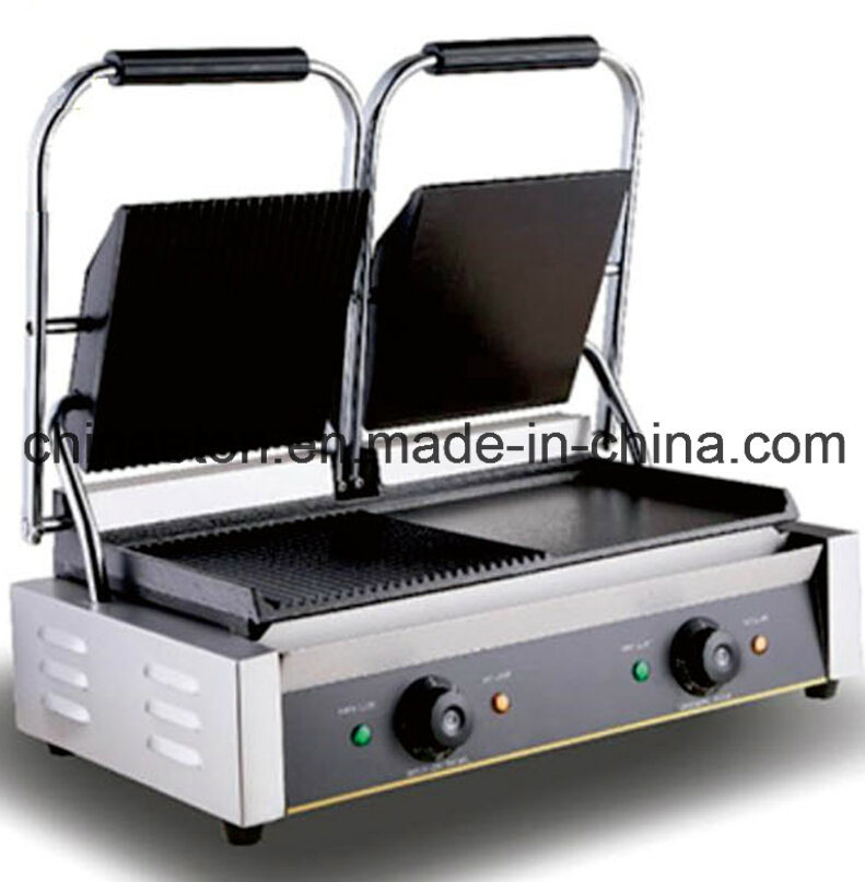 Newly Luxury Double Electric Contact Grill with CE Approve (ET-YP-2A4)