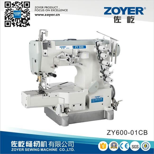 Zoyer Pegasus Cylinder Flat Bed Interlock Sewing Machine (ZY600-01 CB)