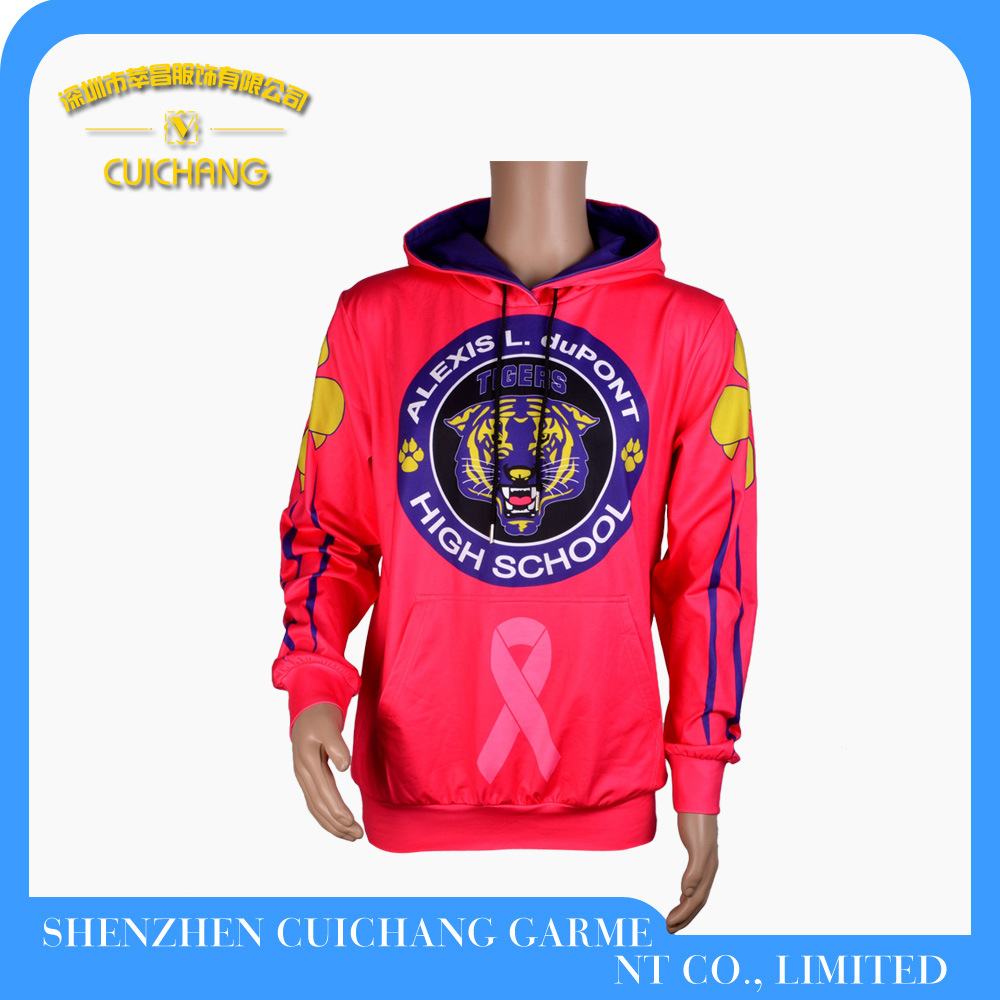 Custom Fashion Men Hoody Jacket
