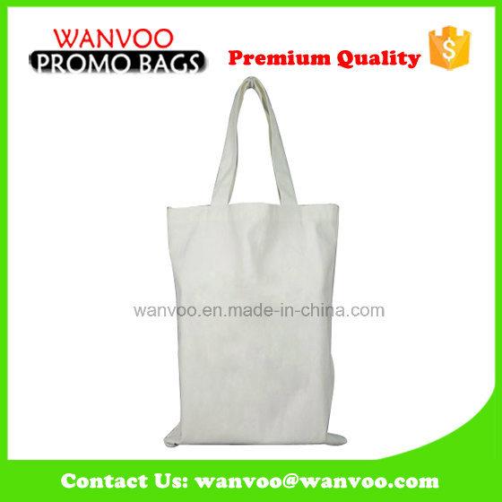 Plain White Simple Canvas Bag Cotton Tote Shopping Bag