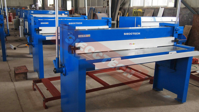 Q01 Hand Guillotine Shearing Machine Manual Guillotine Shearing Machine