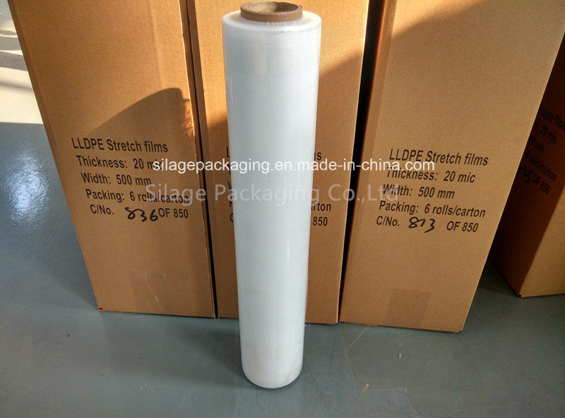 Good Quality Multi-Layer Blown Clear Pallet Wrap Stretch Film