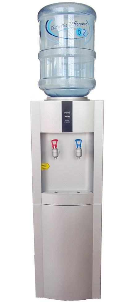 Standing Water Cooler with 16L Fridge