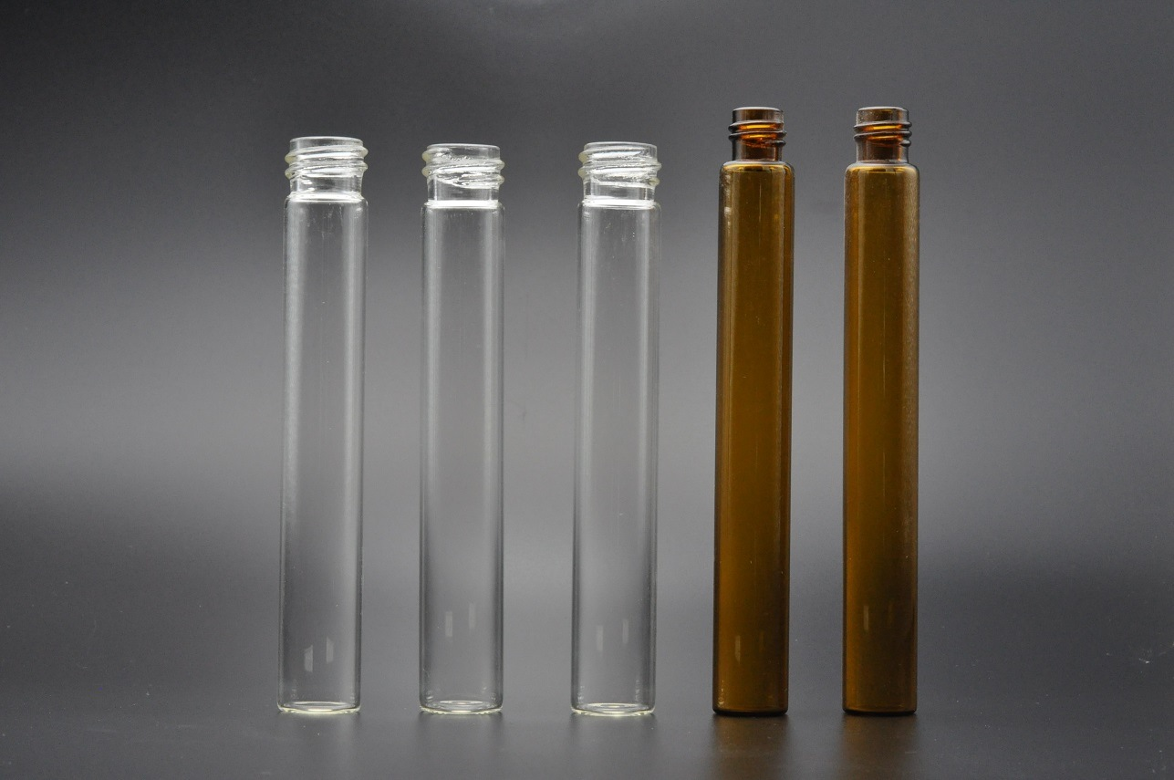60ml Clear and Amber EPA Chromatography Autosampler Glass Vials for Water Test